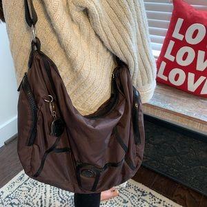 Kipling Brown Shoulder/Crossbody Handbag